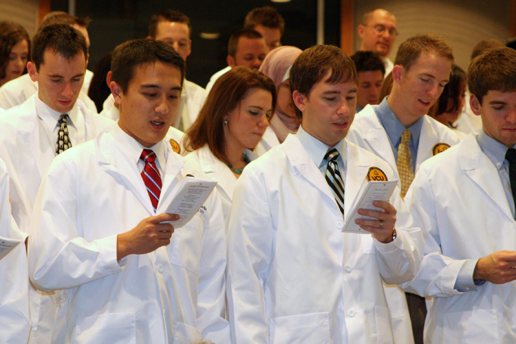 The Virginia Commonwealth University School of Dentistry's Class