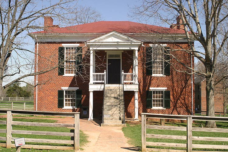 Exceptional The Appomattox Court House. Although No Official Surrender Activities  Occurred Here, It Is The