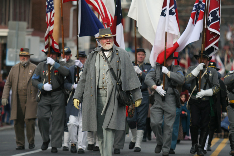 Dick Crozier Portraying General Robert E Lee During The