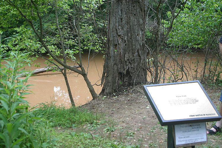Battlefield Ford Manassas >> Manassas - Blackburn's Ford, this is where William Tecumseh Sherman led his troops across Bull ...